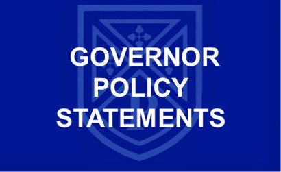 Governor Policy Statements Link Button