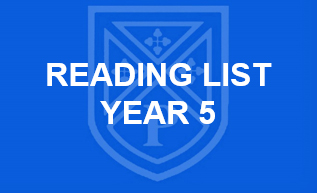 Reading List Year 5