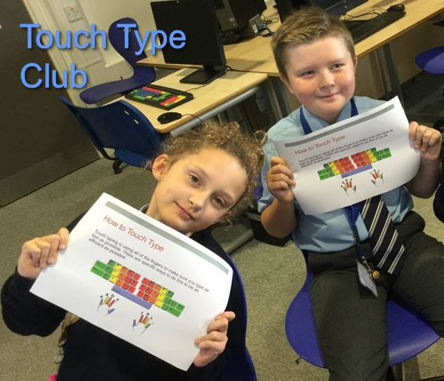 Touch Type club